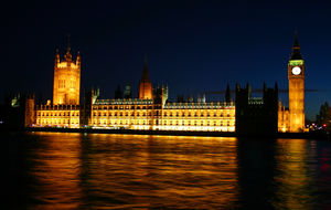 House Of Parliament by night