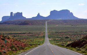 Monument Valley i sikte.
