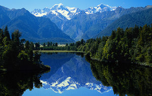 Lake Mathesson, Nya Zeeland