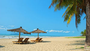 Tropiska stränder, varma källor och havets läckerheter