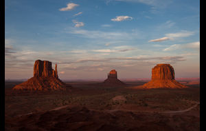 Monument Valley - Shadows ...