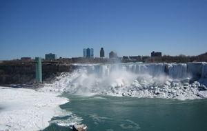 Amerikanska sidan av Niagarafallet