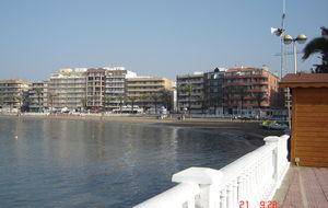 Stranden i Torrevija