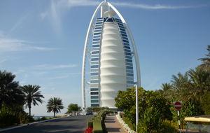 Al burj arab 7 stjärningt Hotell