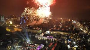 Europas bästa nyårsfirande