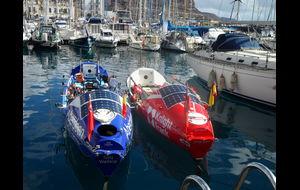 Roddbåtarna som ska ta sig över Atlanten