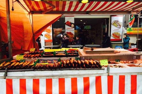 Snabbmats-favoriter i Amsterdam