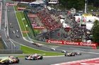 Formel 1 resor till hetaste loppen