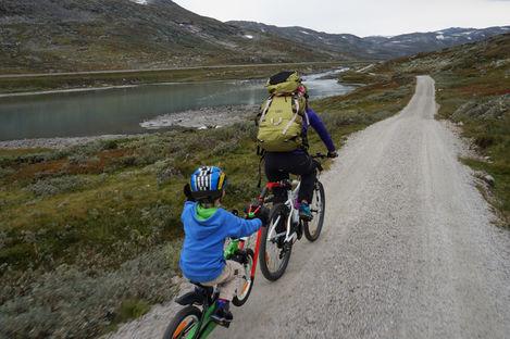 Rallarvegen – med cykel på Hardangervidda