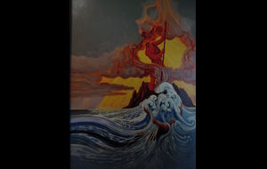 Pele - goddess of fire and volcanoes