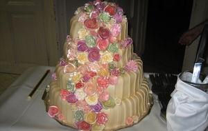 Bröllopstårta
