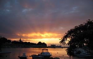 Zadar i solnedgången...