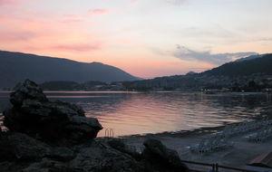 Kväll över Kotor Bay