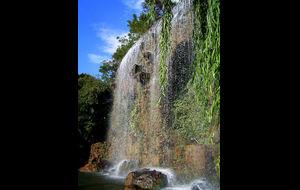 Ett nice vattenfall i Nice..