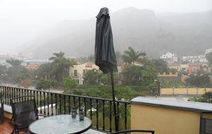 Oväder över hela Gran Canaria