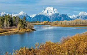Oxbow Bend i Grand Teton NP, Wyoming