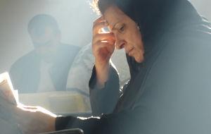 Kvinna i vackert ljus