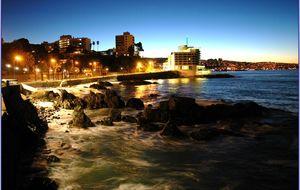 kväll i Viña del Mar