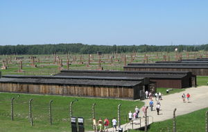 Baracker i Birkenau