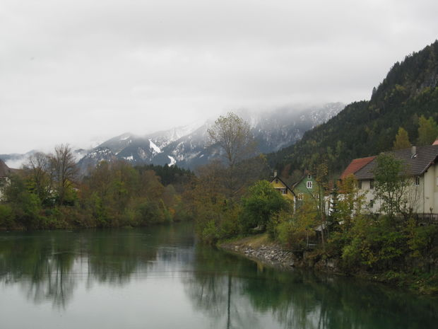 › bilder › tyskland › füssen › floden lech i füssen
