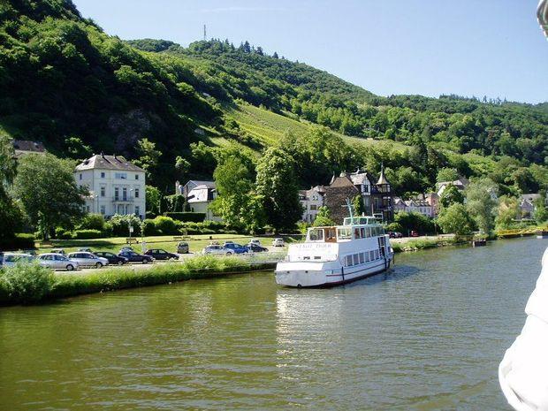 Floden mosel - bilder floden mosel, tyskland