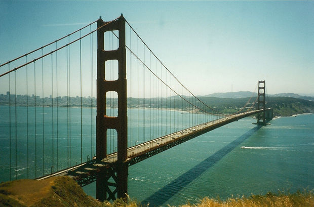 golden gate bridge bilder san francisco kalifornien usa. Black Bedroom Furniture Sets. Home Design Ideas