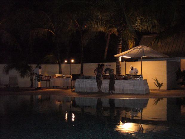Grillbuffé - Bilder Trou d'Eau Douce, Mauritius