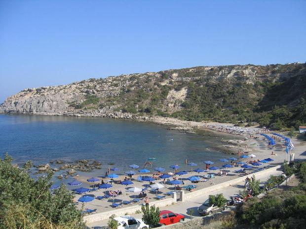 Nakenbad - Bilder Faliraki, Rhodos, Grekland