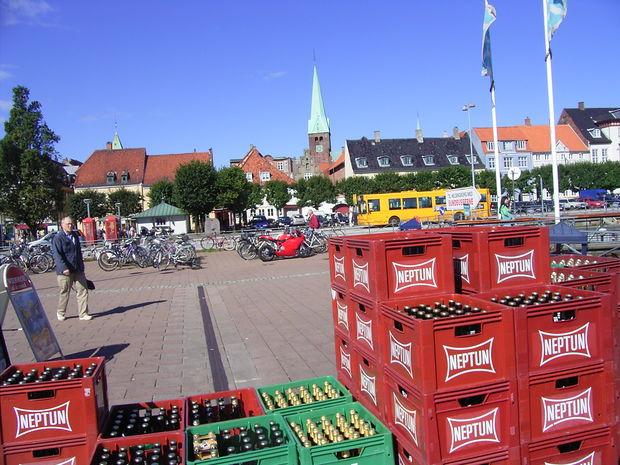 ÖL & SPRIT FÖRSÄLJNING - Bilder HELSINGÖR, Danmark