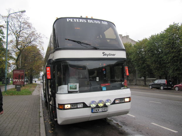 Peters Buss - Bilder Tallinn, Estland