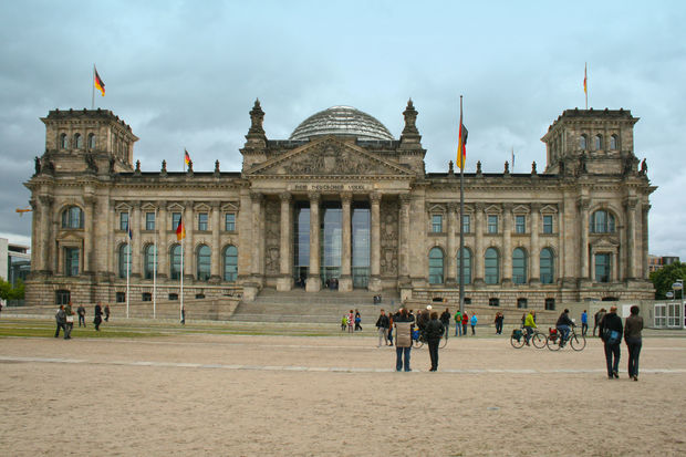 Riksdagen - Bilder Berlin, Tyskland - Reseguiden