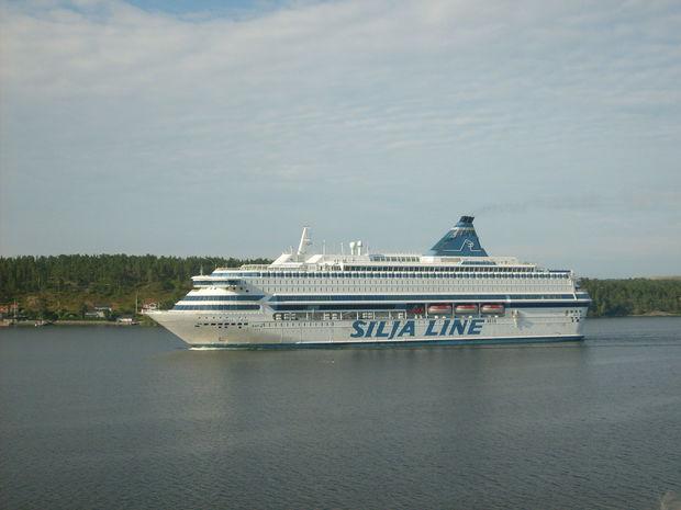 Silja Line - Bilder Stockholm, Sverige