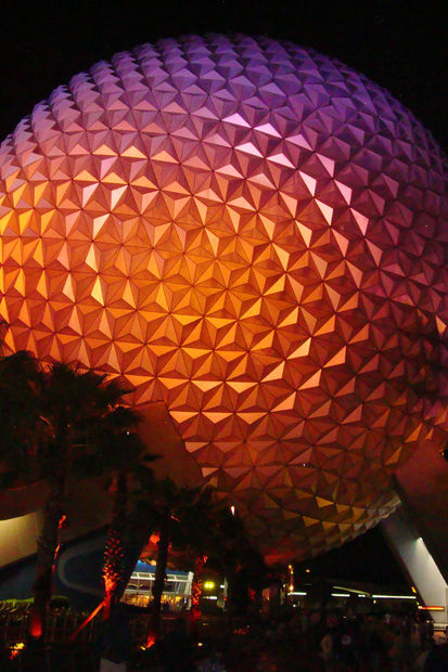 Spaceship Earth, EPCOT - Bilder Lake Buena Vista, Florida, USA