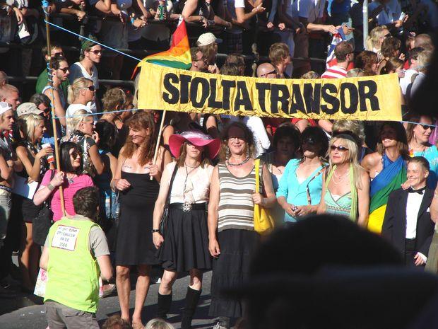 Stolta transor, Stockholm Pride. - Bilder Stockholm, Sverige