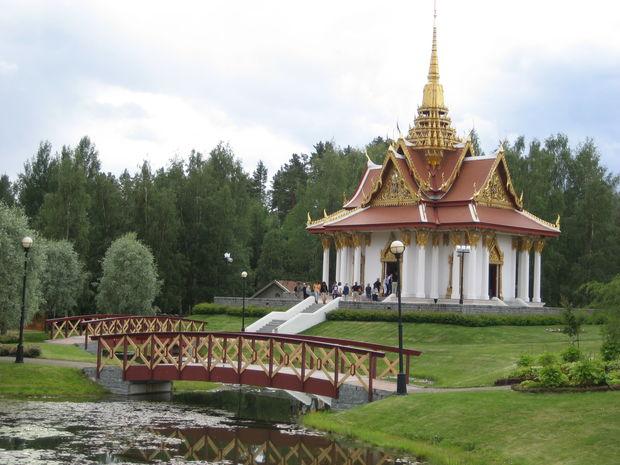 Thaitempel - Bilder Ragunda i Jämtland