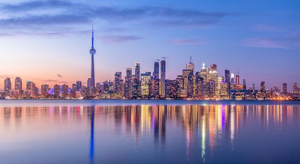 Den häftiga staden Toronto!