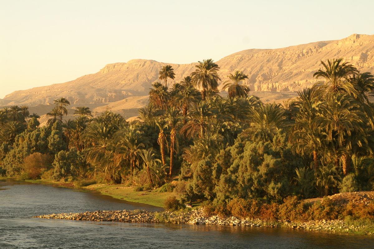 Naturen runt Nilen