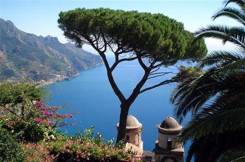 Utsikt från Villa Rufolo