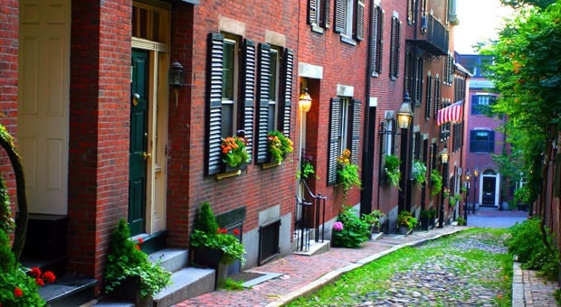 Beacon Hill i Boston