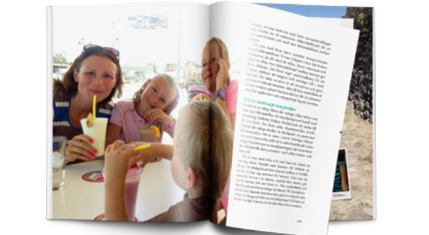 Boken blandar fina bilder och nyttiga texter