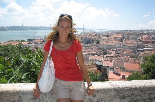 Utsikt över Lissabon