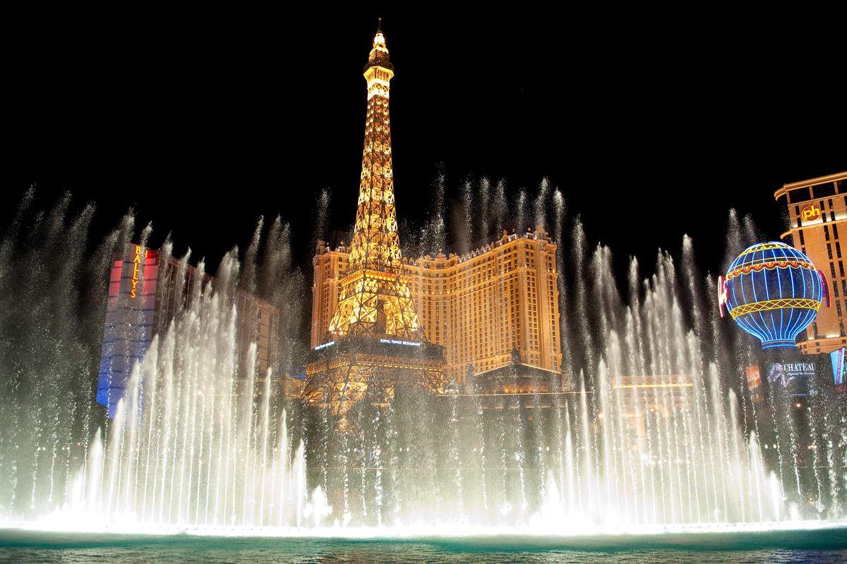 Bellagios fontäner