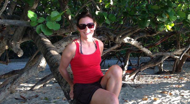 Rosita på St Maarten
