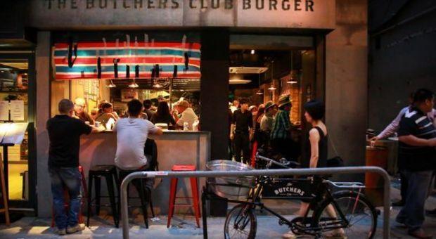 Bästa hamburgerhaken i Hongkong
