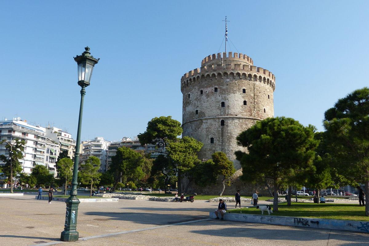 Det hvite tårnet i morgenlys