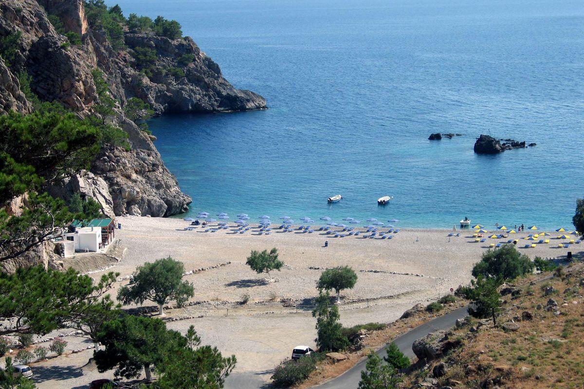 Achata stranden