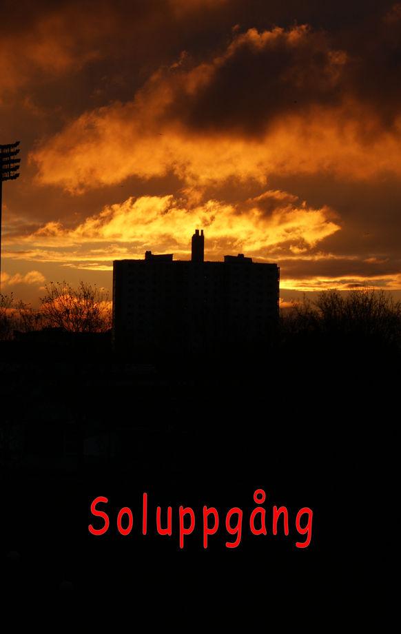 Soluppgång Malmö