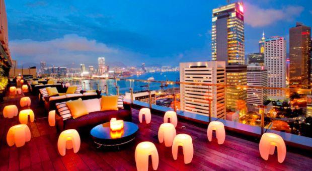 Topp 5: Bästa takbarerna i Hongkong