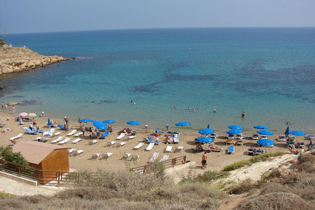 Dherynia beach