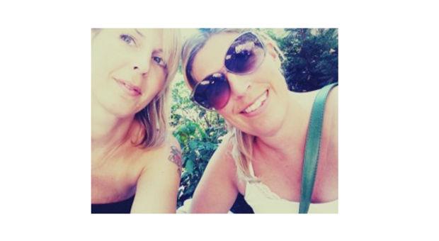 Systrarna Hanna och Sofia